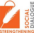 Strengthening social dialogue logo
